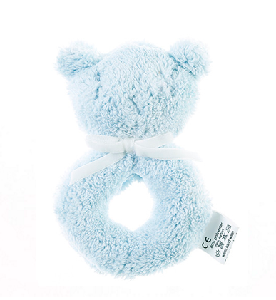 Snuggles Rattle Blue